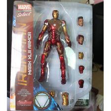 Marvel Select Iron Man MK43 Mark XLIII Armor PVC Action Figure Collectible Model