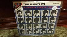 THE BEATLES - A HARD DAY'S NIGHT STEREO IMPORT PCS #3058 70,S SEALED MINT!