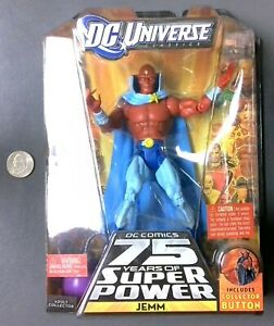 DC Universe Classice Wave 15 JEMM - Mattel 2010 - New on Card