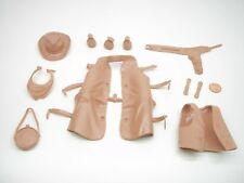 Marx (NEW TAN COLOR ACCESSORY LOT) Johnny West Best Of The West Horse Indian