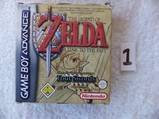 NINTENDO GAME BOY -  ZELDA A LINK TO THE PAST (BOXED 1)