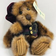 Velvet Plaid Teddy Bear Christmas Minky Plush Animal Toy First and Main