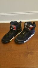 Air Jordan Sixty Plus Black White Varsity Red 364806-061 Men Size 9