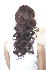 Haarteil Zopf  Klammer&Gummiband voluminös gelockt ca.60cm Haarverlängerung