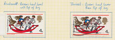 1968 QEII COMMEMORATIVES Printing Flaw Christmas 4d Stamp