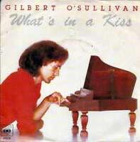 "Gilbert O'Sullivan - What's In A Kiss (7"", Single Vinyl Schallplatte - 20492"