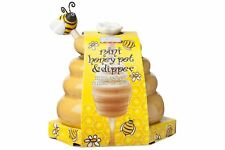 Joie Ceramic Beehive Honey Pot and Wooden Dipper, Mini