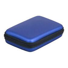 """Hard Disk Drive Shockproof ZipPer Cover Bag 2.5"""" HDD Bag Hardcase Blue SY I R4O6"""