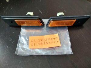 BMW E36 turn signal lights L+R !NEW! OEM 63138357047 63138357048