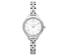 Jag Women's 28mm Charlotte Stainless Steel Watch - White/Silver
