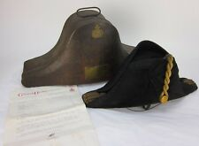 Larcom-Veysey Royal Navy Cocked Bicorn Hat with Metal Case