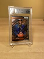 Mikal Bridges Rookie RC Suns Autographed Signed Beckett BAS Slabbed Card COA