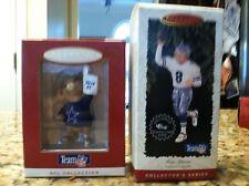 Dallas Cowboys Hallmark Keepsake Christmas Ornaments Troy Aikman NFL lot Legends