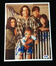 FOX WOLF CAMPBELL CHABERT PARTY OF FIVE CAST AUTOGRAPHED 8 x 10 PHOTO PSA DNA