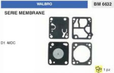 KIT SERIE MEMBRANE membrana CARBURATORE WALBRO D1-MDC (D 1 MDC)