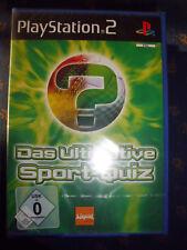 DAS ULTIMATIVE SPORT-QUIZ für PlayStation 2/PS2 USK0 Rate-/Lernspiel NEU+foliert