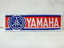 Un écusson Aufbügler patch YAMAHA - 3,5 x 11,5 cm