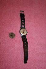 Vintage Barrington Waterproof Watch Swiss Made 7 Jewels Anti Shock Running