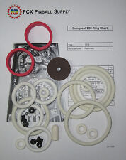 1976 Playmatic Conquest 200 Pinball Machine Rubber Ring Kit