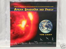 "Afrika Bambaataa And Family - The Light 12"" Double Lp"