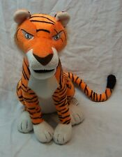 "The Jungle Book SOFT SHERE KHAN TIGER 10"" Plush Stuffed Animal Toy"