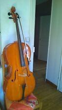 Violoncelle adulte 4x4 avec archet et housse
