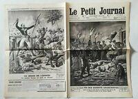 N920 La Une Du Journal Le petit journal 26 mai 1912 la fin bandits anarchistes