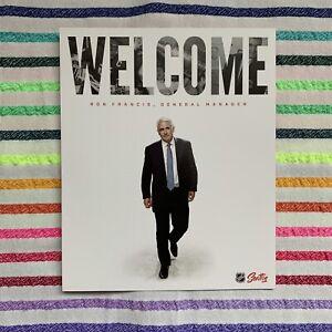 "NHL Seattle Return To Hockey - Kraken GM Ron Francis - RARE 9x11"" Poster Placard"
