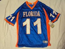 FL Gators Football Jersey Russell Athletic Adult Size Large New With Tags