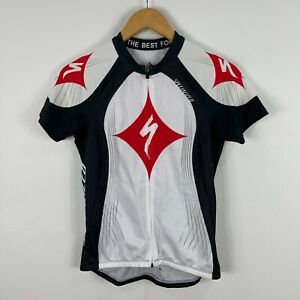 Specialized Mens Cycling Jersey Small Multicoloured Short Sleeve Back Pockets