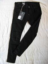 G-Star 5620 caballeros Men Black jeans pitillo w33/l32 low waist super slim fit Pipe