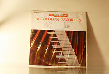 ACCORDEON KINGS - ACCORDEON FAVORITES - ACORN - VG  - BUY 1 LP GET 1 LP FREE