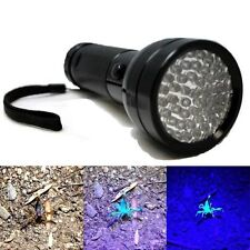 Blacklight Detection 51 LED UV Ultra Violet Mini Flashlight AA Torch Light Lamp