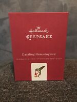 2016 Hallmark Dazzling Hummingbird Beauty of Birds Keepsake Premium Ornament