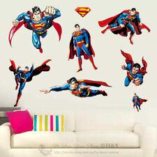 Super Hero Wall Stickers Removable Kid Art Nursery Vinyl Decal Decor Mural Gift