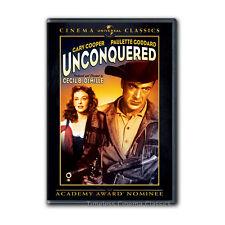 Unconquered DVD New Gary Cooper Paulette Goddard Howard Da Silva Boris Karloff