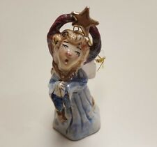 Blue Sky Clayworks Christmas Angel Ornament 2001 By Heather Goldminc 4.2 Inches