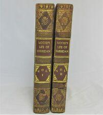 BIOGRAPHY Memoirs of RICHARD BRINSLEY SHERIDAN Two Volumes by THOMAS MOORE