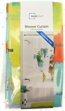 "World Map ~ Shower Curtain ~ 70"" X 72"" ~ Mainstays ~ 100% PEVA"