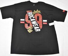 $32 NWD NEW Mens Rocawear T-Shirt BRKLN Graphic Tee Black Urban 3XL XXXL N769(d)