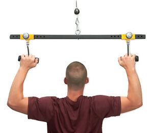 """PULL FORCE """"Freestyle"""" Lat Pull Down Bar"""