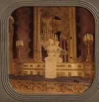 Francia Parigi Palais Da Tuileries Foto Stereo Diorama Vintage Albumina Ca 1860