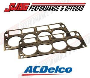09-15 GM CADILLAC CTS CAMARO CORVETTE LS9 AC DELCO CYLINDER HEAD GASKET PAIR