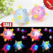 Jumping Flashing Dog Ball LED For Pets Dogs Toys Joggle Color Changing
