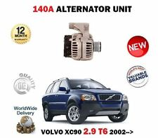 FOR VOLVO XC90 2.9 T6 272BHP 2002-> NEW 140A AMP ALTERNATOR UNIT