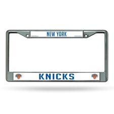 New York NY Knicks NBA Chrome Metal License Plate Frame