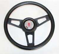 "1967 Olds Cutlass 442 Delta Grant Black Steering Wheel with black spokes 13 3/4"""