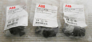 (3) ABB 1SFA611213R1006 M3SS4-10B Modular Selector Switch 3 Position Maintained