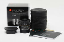 New Leica Super-Elmar-M 21mm f/3.4 ASPH Black #11145 M9P ME MM M240 M-P M10