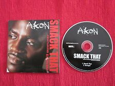 CD SINGLE AKON FEATURING EMINEM SMACK THAT SENEGAL 2006